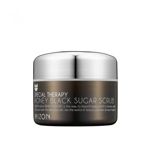 Veido odos šveitiklis Mizon Honey Black Sugar Scrub 90g.