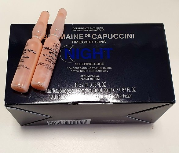 Odą atkuriantis koncentratas Germaine de Capuccini Timexpert