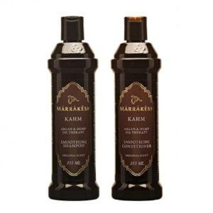 Rinkinys plaukų glotnumui Marrakesh Duo Kahm