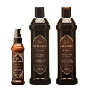 Rinkinys plaukų glotnumui Marrakesh Trio Kahm