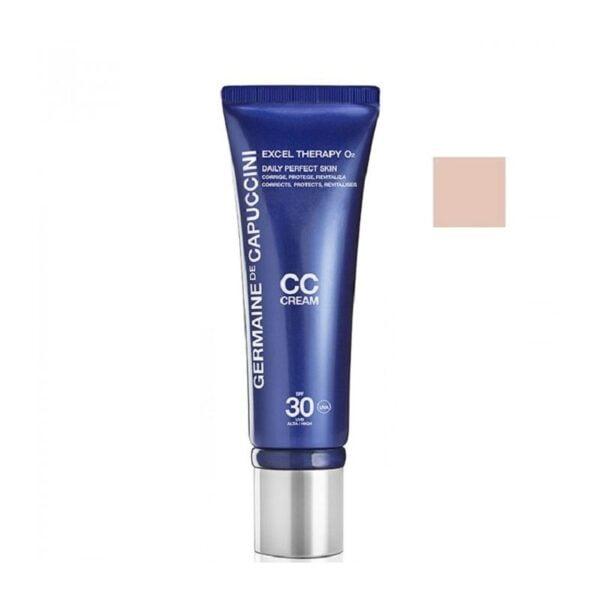 Maskuojantis CC kremas su deguonimi Germaine de Capuccini Excel Therapy O2 50ml (beige)
