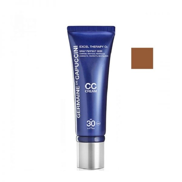 Maskuojantis CC kremas su deguonimi Germaine de Capuccini Excel Therapy O2 50ml (bronze)