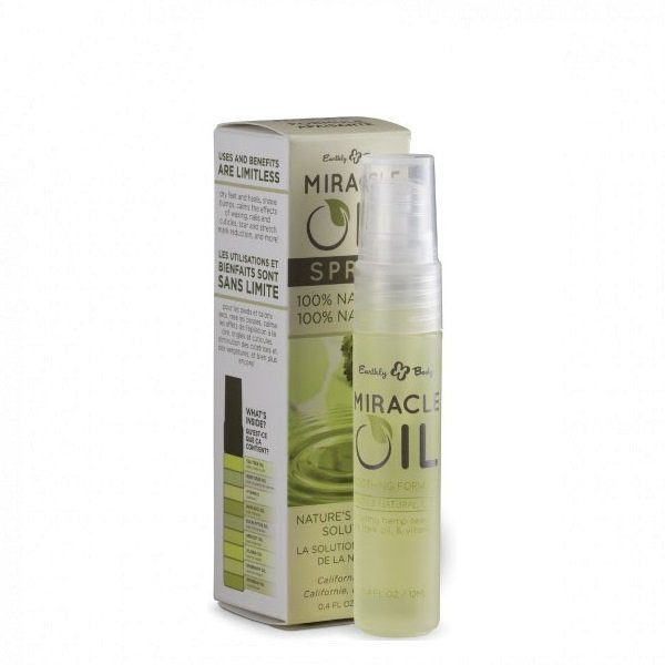 Daugiafunkcinis odos aliejus Hemp Seed Miracle Oil 12ml