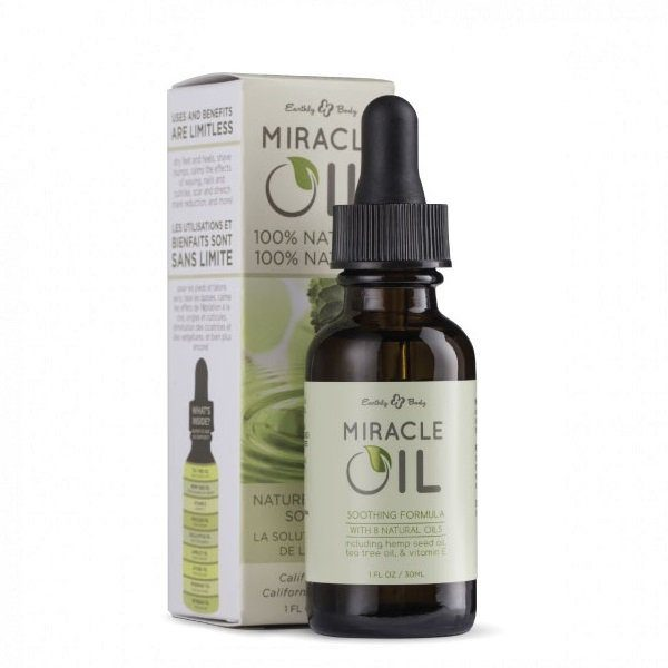 Daugiafunkcinis odos aliejus Hemp Seed Miracle Oil 30ml (su pipete)