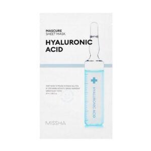 Veido kaukė su hialuronu MISSHA Mascure Hydra Solution