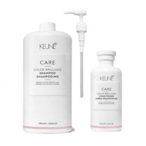 Rinkinys dažytų plaukų apsaugai Keune Care