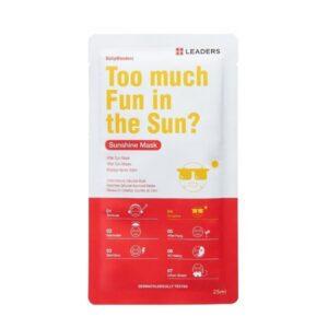Raminanti kaukė saulės pažeistai odai Leaders DailyWonders Sunshine 1vnt.