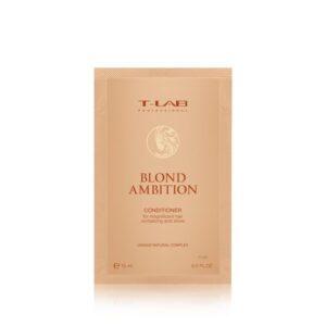 Kondicionierius šviesintiems plaukams T-Lab Blond Ambition 15ml (kelionėms)