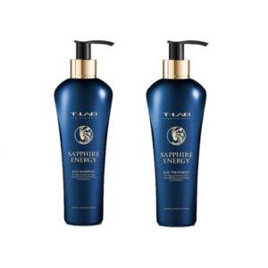 Rinkinys plaukų stiprinimui T-Lab Sapphire Energy Duo