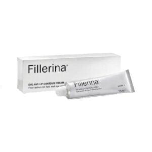 Paakių ir lūpų kremas 1 lygio raukšlėms Fillerina (su 6 hialurono rūgštimis ir peptidais)