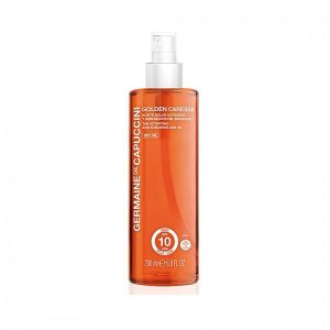 Įdegį skatinantis aliejus SPF10 Germaine de Capuccini Golden Caresse Tan Activating 200ml