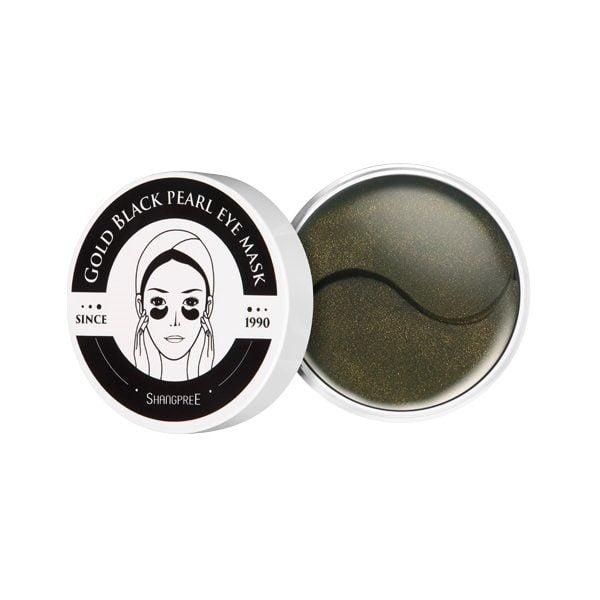 Jauninančios paakių kaukės Shangpree Gold Black Pearl 60vnt.