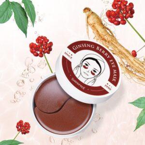 Stangrinančios paakių kaukės su ženšeniu Shangpree Ginseng Berry 60vnt.