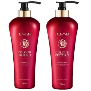 Rinkinys dažytiems plaukams T-LAB COLOUR PROTECT Duo XL