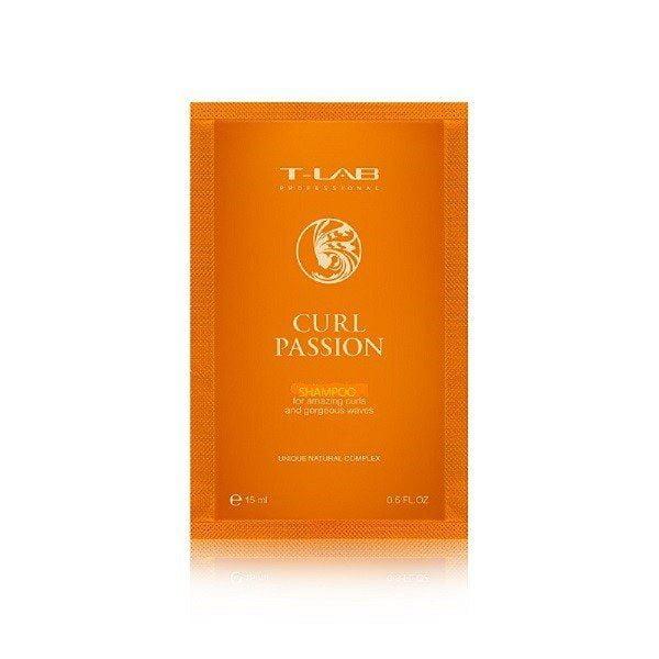 Šampūnas T-Lab Curl Passion 15ml (Kelionėms)