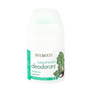 Natūralus rutulinis dezodorantas su žolelių ekstraktu Sylveco 50ml