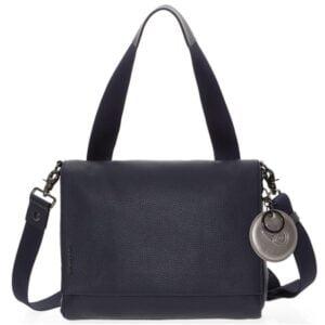 Tamsiai mėlyna rankinė Mandarina Duck Mellow Leather 08Q