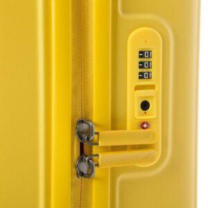 Geltonas lagaminas Mandarina Duck Cabin LOGODUCK 5J2