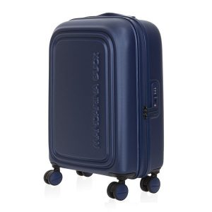 Mėlynas lagaminas Mandarina Duck Cabin LOGODUCK 19R