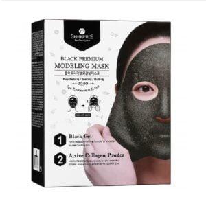 Modeliuojanti veido kaukė Shangpree Black Premium Modeling Mask 50g