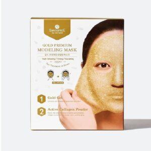 Modeliuojanti veido kaukė Shangpree Gold Premium Modeling Mask