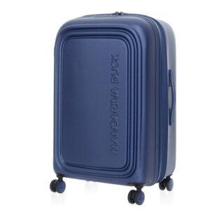 Mėlynas vidutinis lagaminas Mandarina Duck LOGODUCK