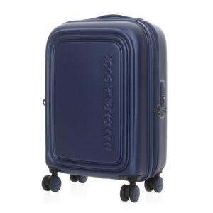 Mėlynas lagaminas Mandarina Duck Cabin LOGODUCK