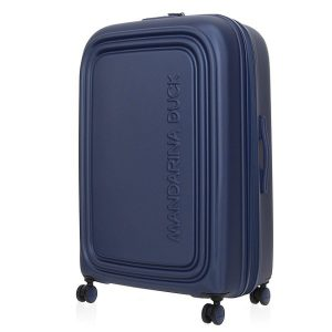 Mėlynas XL lagaminas Mandarina Duck LOGODUCK