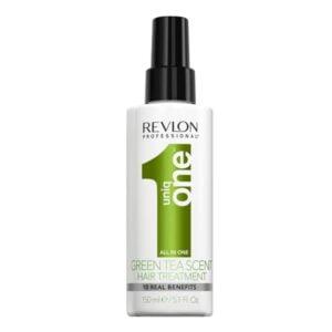 Daugiafunkcė priemonė plaukams Revlon Uniq One Green Tea Hair Treatment