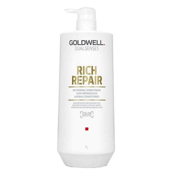 Kondicionierius atstatantis pažeistus plaukus Goldwell RICH REPAIR 1l