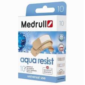 Pleistrų rinkinys Medrull Aqua resist N10