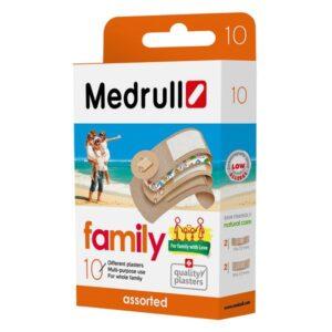 Pleistrų rinkinys Medrull Family Pack N10