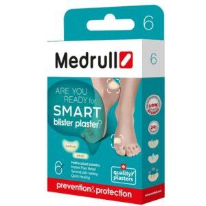Pleistrai nuo nuospaudų Medrull Smart blister plaster Mix N6