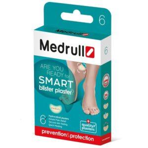 Pleistrai nuo nuospaudų Medrull Smart blister plaster N6 (vidutiniai)