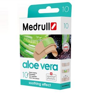 Pleistrai su augalų ekstraktu Medrull Aloe vera N10