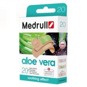 Pleistrai su augalų ekstraktu Medrull Aloe vera N20