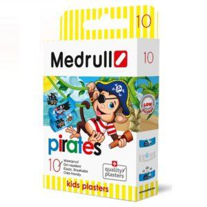 Pleistras Medrull Piratai N10 (vaikiškas)