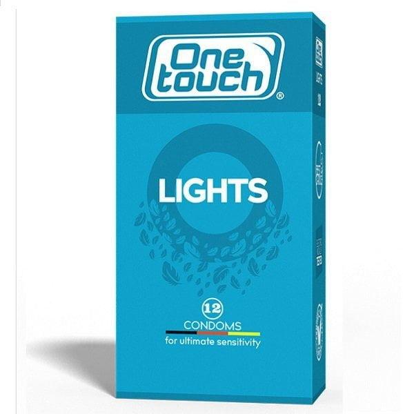Prezervatyvai One Touch Lights 12vnt (2)