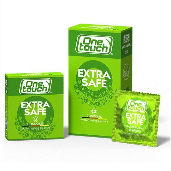 Prezervatyvai maksimalaus saugumo One Touch Extra safe