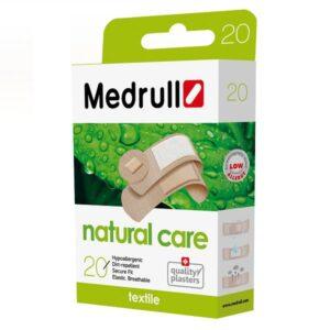 Tekstiliniai pleistrai Medrull Natural Care N20