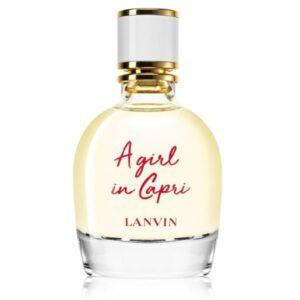 Tualetinis vanduo moterims Lanvin A Girl In Capri EDT 90ml