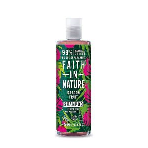 Šampūnas atgaivinantis plaukus Faith in Nature 400ml (su drakono vaisiumi)