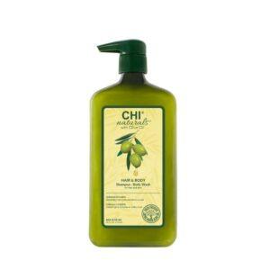 Šampūnas ir kūno prausiklis CHI OLIVE ORGANIC 710ml