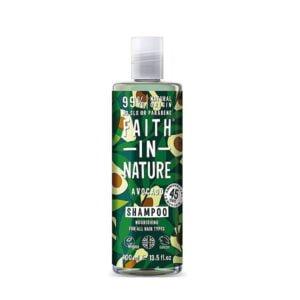 Šampūnas maitinantis plaukus Faith in Nature 400ml (su avokadais)