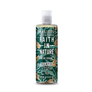Šampūnas vyrams Faith in Nature 400ml (su kedrų aromatu)