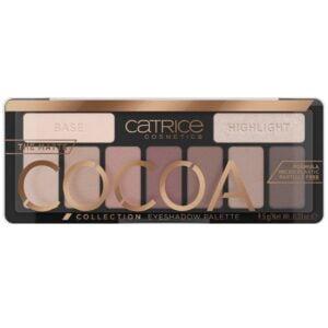 Akių šešėlių paletė CATRICE The Matte Cocoa Collection