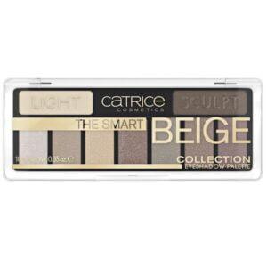 Akių šešėlių paletė CATRICE The Smart Beige Collection