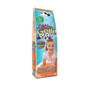 Drebučiai vaikams Zimpli Kids Glitter Gelli Play Orange 50g