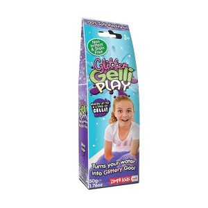 Drebučiai vaikams Zimpli Kids Glitter Gelli Play Purple 50g
