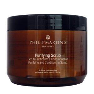 Galvos odos šveitiklis Philip Martin's Purifying Scrub 500ml